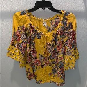 Nice cute floral shirt